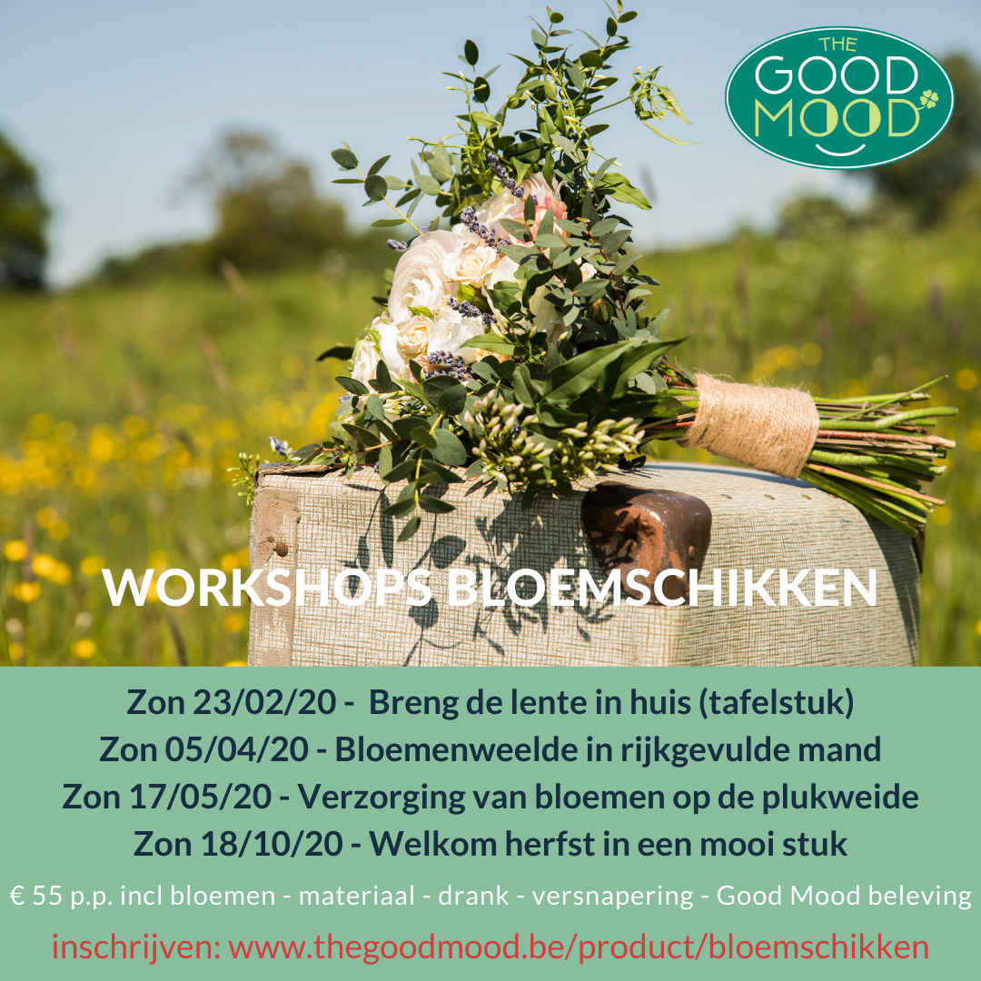Workshops Good Mood Bloemschikken