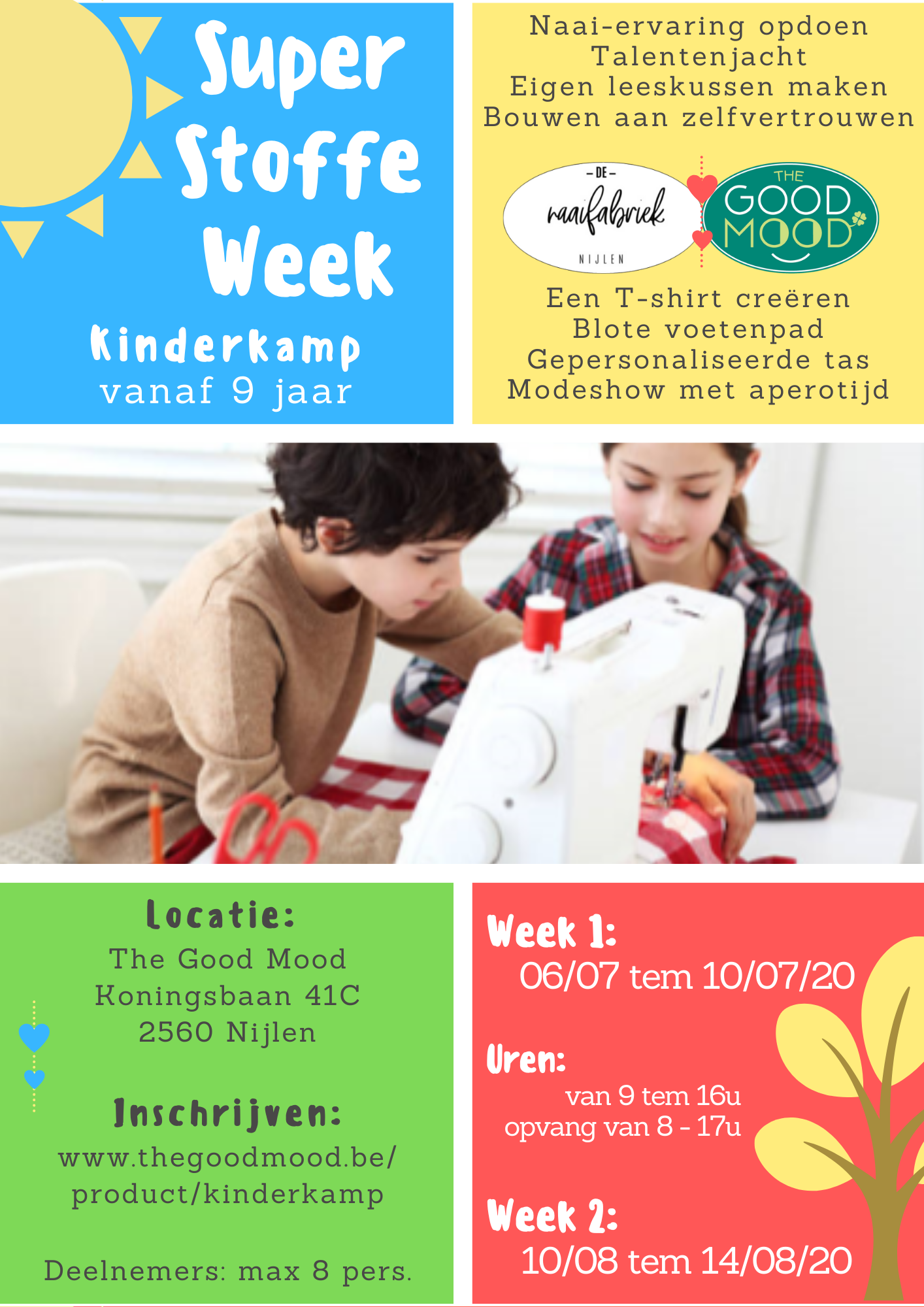 Super Stoffe Week - Kinderkamp (zomer 2020)
